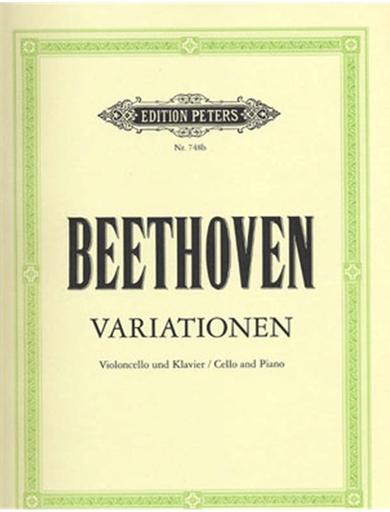 Beethoven, L.van: Variations (cello & piano)