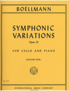 International Music Company Boellmann, L. (Rose): Symphonic Variations, Op. 23 (cello & piano)