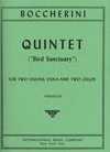 "International Music Company Boccherini: Quintet in D ""Bird Sanctuary"" (2 violins, viola, 2 cellos)"