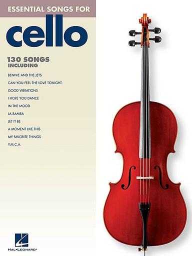 HAL LEONARD Essential Songs for Cello (cello)