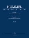 Barenreiter Hummel, J.N.: Sonata Op. 104 (cello and piano) Barenreiter Urtext