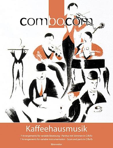 Barenreiter Breig, Bertold: ComboCom Kaffeehausmusik (piano, 2 violins, 2 clarinets, cello)