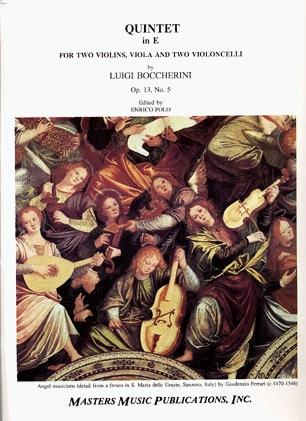 LudwigMasters Boccherini, Luigi: String Quintet in E Op.13 No.5 (2 violins, viola, 2 cello)