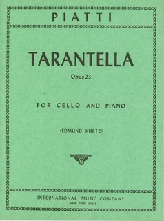 International Music Company Piatti: Tarantella, Op. 23 (cello & piano)