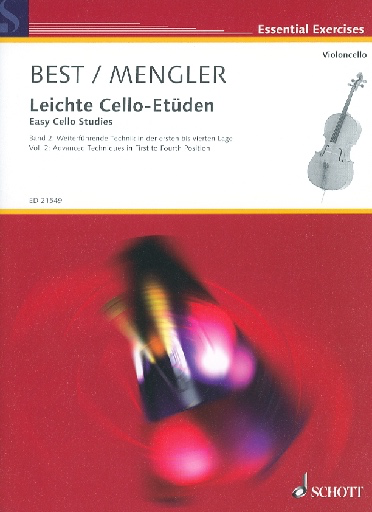 HAL LEONARD Best & Mengler (ed.): Easy Cello Studies (Leichte Cello-Etuden) (cello)