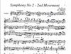Beethoven, L.van (Martelli): Symphony No. 2, 2nd movement (string quartet)