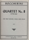 International Music Company Boccherini, Luigi: Quartet No.8 in Bb major (string quartet)
