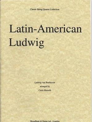 Carl Fischer Martelli: Latin-American Ludwig (String Quartet)