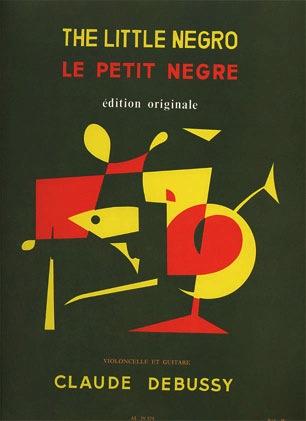 Carl Fischer Debussy, Claude: Le Petit Negre (cello & guitar)