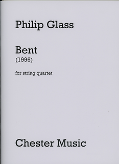 HAL LEONARD Glass, P.: Bent - 1996 (string quartet)