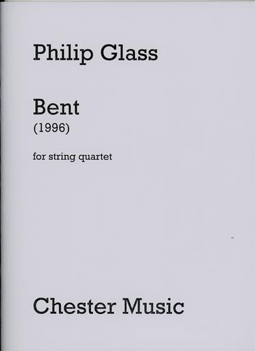 HAL LEONARD Glass, P.: Bent - 1996 (string quartet)