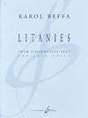 Carl Fischer Beffa: Litanies (cello) Billaudot