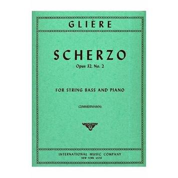 International Music Company Gliere, Reinhold (Zimmermann): Scherzo Op.32 #2 (bass & piano)