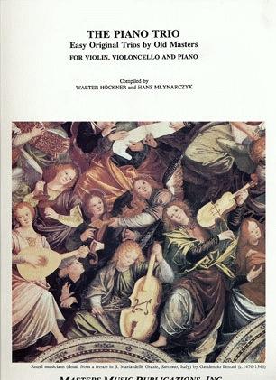 LudwigMasters Hoeckner, W.: The Piano Trio-Easy Original Trios by Old Masters (violin, cello, piano)