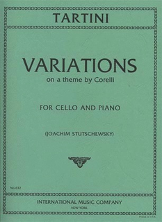 International Music Company Tartini, Giuseppe: Variations on a Theme by Corelli (cello & piano)