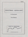 Flaherty, Thomas: Christmas Quodlibet, parts, no score (string quartet)