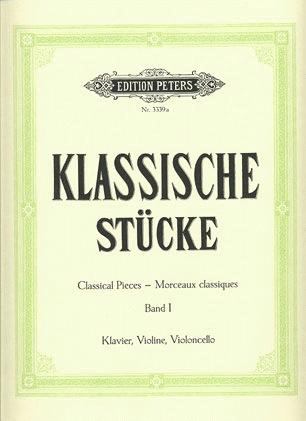 C.F. Peters Hermann: Classical Pieces Vol.1 (violin, cello, piano)