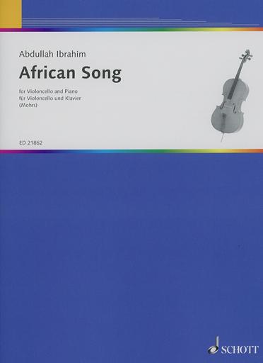 HAL LEONARD Ibrahim, A.: African Song (cello & piano)