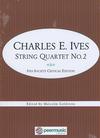 HAL LEONARD Ives, C. (Goldstein): String Quartet No.2 - Ives Society Critical Edition (string quartet)
