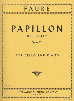 International Music Company Faure, Gabriel: Papillon Op.77 (cello & piano)
