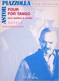 Carl Fischer Piazzolla: (score/parts) Four for Tango (string quartet) Editions Henry Lemoine