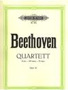 Beethoven, L. van: Piano Quartet in Eb op.16 (violin, viola, cello, piano)