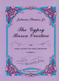 Carl Fischer Strauss Jr., J. (Zinn): The Gypsy Baron Overture (string quartet)