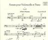 Carl Fischer Ballif, Claude: Sonate Op.40 (cello & piano)
