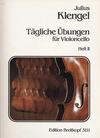 Klengel: Tagliche Ubungen - Daily Studies, Vol.2 (cello)