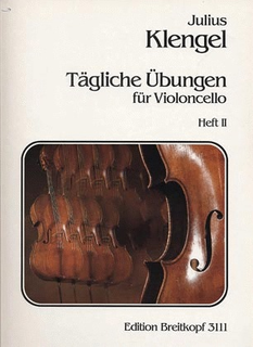 Klengel: Tagliche Ubungen - Daily Studies, Vol.2 (cello)