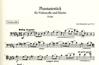 Hindemith, Paul: Phantasy Op.8 No.2 in B major (cello & piano)