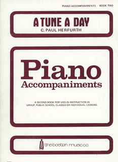 HAL LEONARD Herfurth: A Tune A Day, Vol.2 (piano accompaniment)