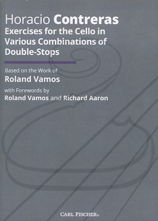 Carl Fischer Vamos & Contreras: Exercises for the Cello in Various Combinations of Double-Stops - ADAPTED (cello)  Carl Fischer