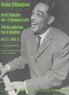 Ellington (Thomas-Mifune): 3 Pieces for 4 Cellos-score & parts