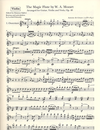 Carl Fischer Lhoyer, Antoine de (arr): The Magic Flute (guitar, violin, viola) parts