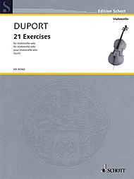 HAL LEONARD Duport Such): 21 Exercises  for Cello Solo