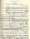 Beethoven, L. van: Trio in C major from the Triple Concerto Op. 56  (violin, cello & piano)