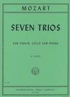 International Music Company Mozart: Seven Trios (violin, cello, & piano)