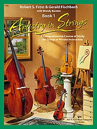 Frost, Robert: Artistry in Strings Book 1 (cello & CD)