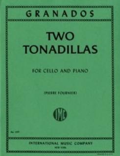 International Music Company Granados, Enrique: Two Tonadillas (cello & piano)