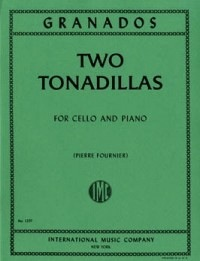 International Music Company Granados, Enrique: Two Tonadillas (cello & piano)
