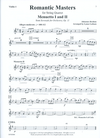 LudwigMasters Latham, Lynne: Romantic Masters for String Quartet, score & parts