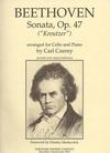 Carl Fischer Beethoven (Czerny)Sonata Op.47 ''Kreutzer''(cello & piano)
