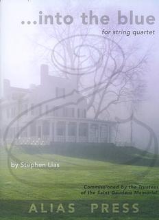 Carl Fischer Lias: (score/parts) ...into the blue (string quartet) Alias Press