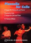 Piazzolla, Astor: 3 Tangos (cello & piano)