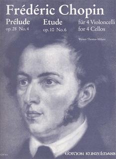 Chopin (Thomas-Mifune): Prelude Op.28 No.4/Etude Op.10 No.6 (4 Cellos)