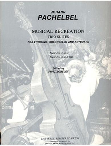 LudwigMasters Pachelbel, J.: Suite No.5 in C: Suite No.6 om Bb (2 violins, cello, piano)