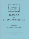 Rarities for Strings Paganini, N. (Sciannameo): Rondo for String Orchestra (string orchestra)