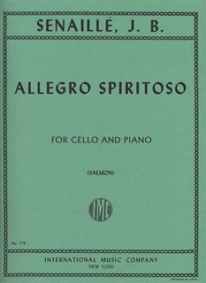 International Music Company Senaille, J.B.: Allegro Spiritoso (cello & piano)