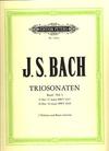 Bach, J.S.: Trio Sonatas Vol.1 (2 violins, piano, cello)